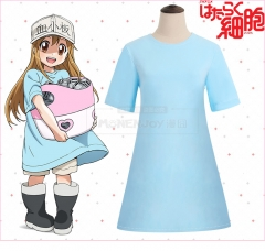 Anime Cells At Work Working Cell Blood Platelet Lolita Cosplay Costume Dresses T-shirt