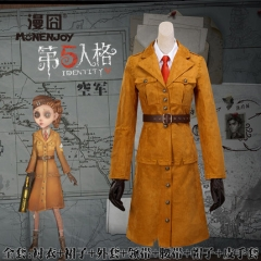 Game Identity V Cosplay Costume Air Force Marta Betan Phil Full Set Suits Cloth