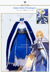 FGO Fate/Grand Order Altria Pendragon Saber Fate/stay night Costume Cosplay Suit