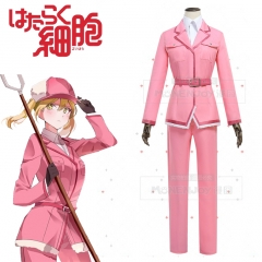 Anime Cells At Work Working Cell basophilic granulocyte basophil Cosplay Uniform