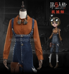Game Identity V Cosplay Costume Tracy Reznik Set With Shirt Rompers Clothes