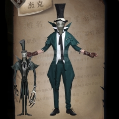 Game Identity V Cosplay Costume Ripper Jack Waistcoat Jackets Hat Men Clothes