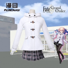 FGO Fate Grand Order Matthew Kyrielite Shielder Cosplay Costume Uniform Skirt