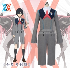 AnimeDARLING in the FRANXX HIRO 016 Cosplay Costume Universal Uniform Suits Clothes