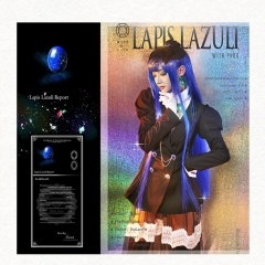 Anime Houseki no Kuni Land of the Lustrous Member Lapis lazuli Cosplay Costume Suit Uniform Suits