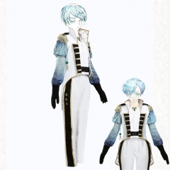 Anime Houseki no Kuni Land of the Lustrous Member Antarcticite Cosplay Costume Knight's Clothes Uniform Suit
