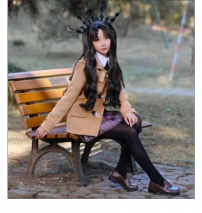 FGO Fate/Grand Order Tohsaka Rin Archer Ishtar Cosplay Costume Woolen Cloth For Woman Sets