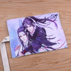 Anime Mo Dao Zu Shi Pencil Case Tian Guan Ci Fu Heaven Official's Blessing Game Identity V Cells at Work! Canvas Pen Bag Gift