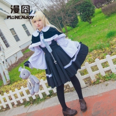 Kasugano Sora Cosplay Costume For Girl Yosuganosora Shrine Winter Dress Clothes Suits In solitude where we are least alone Anime