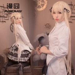 Kasugano Sora Gothic Lolita Cosplay Costume Girl Yosuganosora Shrine Dress Clothes Suits In solitude where we are least alone