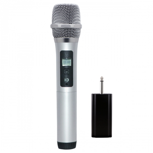 WinBridge Dynamic Cardioid Micorphone Vocal Handheld UHF Wireless Microphone 40 Channel for Live Performances, Interviews, Events, and Karaoke U10