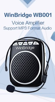 WinBridge WB001 Rechargeable Voice amplifier