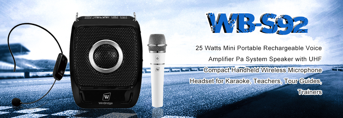 Winbridge S92 Pro Mini Portable Voice speaker