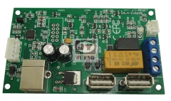 JY001 coin operated timer board for PC time control board PCB, kiosk ...