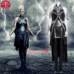MANLUYUNXIAO X Men Apocalypse Storm Ororo Munroe Cosplay Costume Deluxe Outfit Halloween Party For Adult Women
