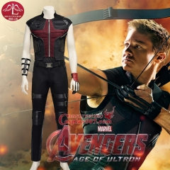 MANLUYUNXIAO New Arrival Men's Costume The Avengers Hawkeye Costume Clinton Francis Barton Short Sleeves Cosplay Costume For Men