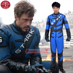 MANLUYUNXIAO Men's Outfit Iron Man Tony Racing Cosplay Iron Man Cosplay Costume Factory Price Halloween Costume Custom Made
