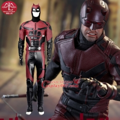 MANLUYUNXIAO New Arrival Men's Daredevil Costume Adult Men Full Suit Halloween Carnival Cosplay Costume For Men Custom Made