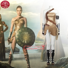 MANLUYUNXIAO Simple version Wonder Woman Cosplay Costume Diana Outfit For Woman Custom Made
