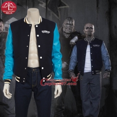 MANLUYUNXIAO Arrival Suicide Squad Chato Santana Cosplay Costume Men's Jacket Adult Custom Made