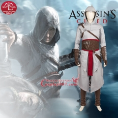 MANLUYUNXIAO High Quality Custom-made Men's Assassins Creed Altair Cosplay Costume Game Assassins Creed Costume Altair outfit