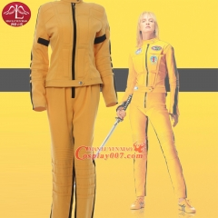 MANLUYUNXIAO Women's Anime Cosplay Kill Bill the Bride Cosplay Costume Halloween Costumes For Women Full Suit Custom Made