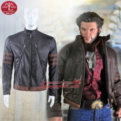 MANLUYUNXIAO X Men Cosplay Costume Wolverine Jacket Logan Suit For Men Custom Made
