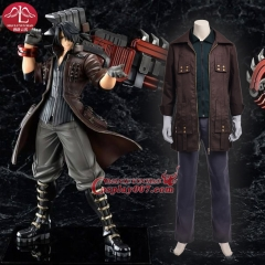 MANLUYUNXIAO Men's Costume Game Character God Eater Amemiya Rindo Cosplay Costume Whole Set Halloween Costumes For Men