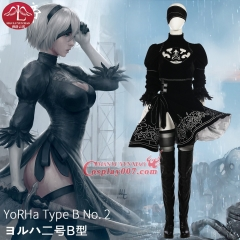 MANLUYUNXIAO High Quality NieR Automata Cosplay Costume For Women Uniforms Dress full size Custom Made