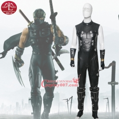 MANLUYUNXIAO New Arrival Black Men's Costume Ninja Gaiden RYU Cosplay Costume For Men Carnival Party Cosplay Costume Full Suit