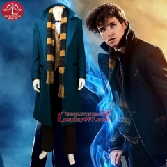 MANLUYUNXIAO New Fantastic Beasts and Where to Find Them Costume Halloween Cosplay Costume For Adult Men Custom Made