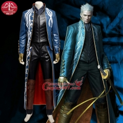 MANLUYUNXIAO Devil May Cry 3 Vergil Cosplay Costume Game Devil May Cry Costume Game Coser Cosplay Clothing Full Set Custom Made
