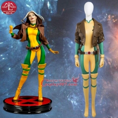 MANLUYUNXIAO X Men Rogue Mary Cosplay Women Deluxe Outfit Halloween Costumes Custom Made