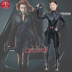 MANLUYUNXIAO The Avengers Black Widow Costume Natasha Cosplay Costume For Women Bodycon Sexy Jumpsuit Movie Role Full Suits