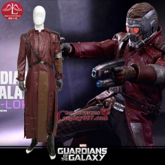 MANLUYUNXIAO Men's Costume Guardians of the Galaxy Costume Star-Lord Peter Jason Quill Cosplay Costume For Men Custom Made