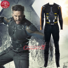 MANLUYUNXIAO X Men Wolverine Cosplay Costume Logan Suit full sets For Men Custom Made