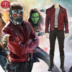 MANLUYUNXIAO Guardians of The Galaxy Peter Quill Star Lord Cosplay Costume For Men Adult Full Set Custom Made