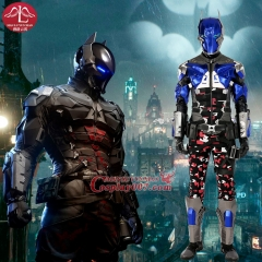 MANLUYUNXIAO Game Character Batman Costume Arkham Knight Costume Halloween Cosplay Costume For Men Custom Made High Quality