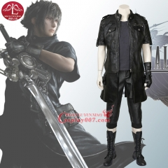 MANLUYUNXIAO Men Final Fantasy Costume Noctis Lucis Caelum Cosplay Costume For Men Halloween Role-playing Costume Custom Made