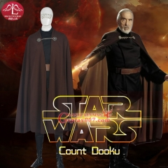 MANLUYUNXIAO Men's Full Outfit Adult Halloween Cosplay Costume Count Dooku Costume Custom Made Wholesale