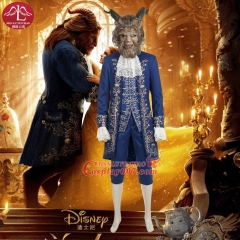 MANLUYUNXIAO New Movie Character Men's The Beauty And Beast Costume Halloween Beast Cosplay Costume For Men Custom Made
