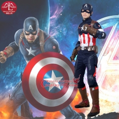 MANLUYUNXIAO The Avengers 2 Captain America Cosplay Costume Halloween Costumes for Men Custom Made