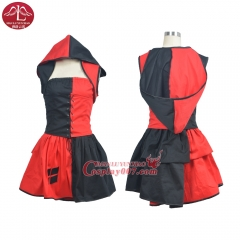 MANLUYUNXIAO Women Harley Quinn Costumes Halloween Harley Quinn Cosplay Costume For Women Any Size Custom Made Factory Price