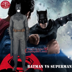MANLUYUNXIAO Men's Batman Cosplay Costume Batman v Superman Deluxe Outfit Halloween Costume For Men Custom Made High Quality