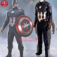 MANLUYUNXIAO High Quality Captain America Civil War Cosplay Costume Captain America Costume Adult Men Halloween Costume For Men