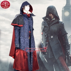 MANLUYUNXIAO Women's Costume Assassin's Creed Costume Syndicate Evie Frye Cosplay Costume For Halloween Custom Made Women Suits