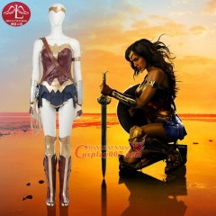 MANLUYUNXIAO Wonder Woman Costume Custom Made Cosplay Costume For Woman