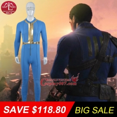 MANLUYUNXIAO Big Sale ! New Arrival Men Costume Game Character Fallout 4 Costume Halloween Carnival Costume For Men