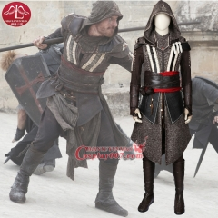MANLUYUNXIAO New Arrival Movie Assassins Creed Costume Callum Lynch Costume Deluxe Outfit Halloween Cosplay Costumes for Men