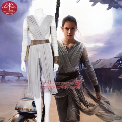 MANLUYUNXIAO Women's Outfit Rey Cosplay Costume For Women Carnival Party Costume Rey Costume Custom Made